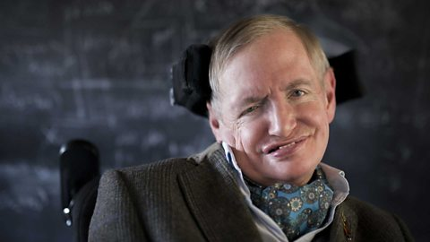 Accepting, Living, Surrendering KE Blog Stephen Hawking